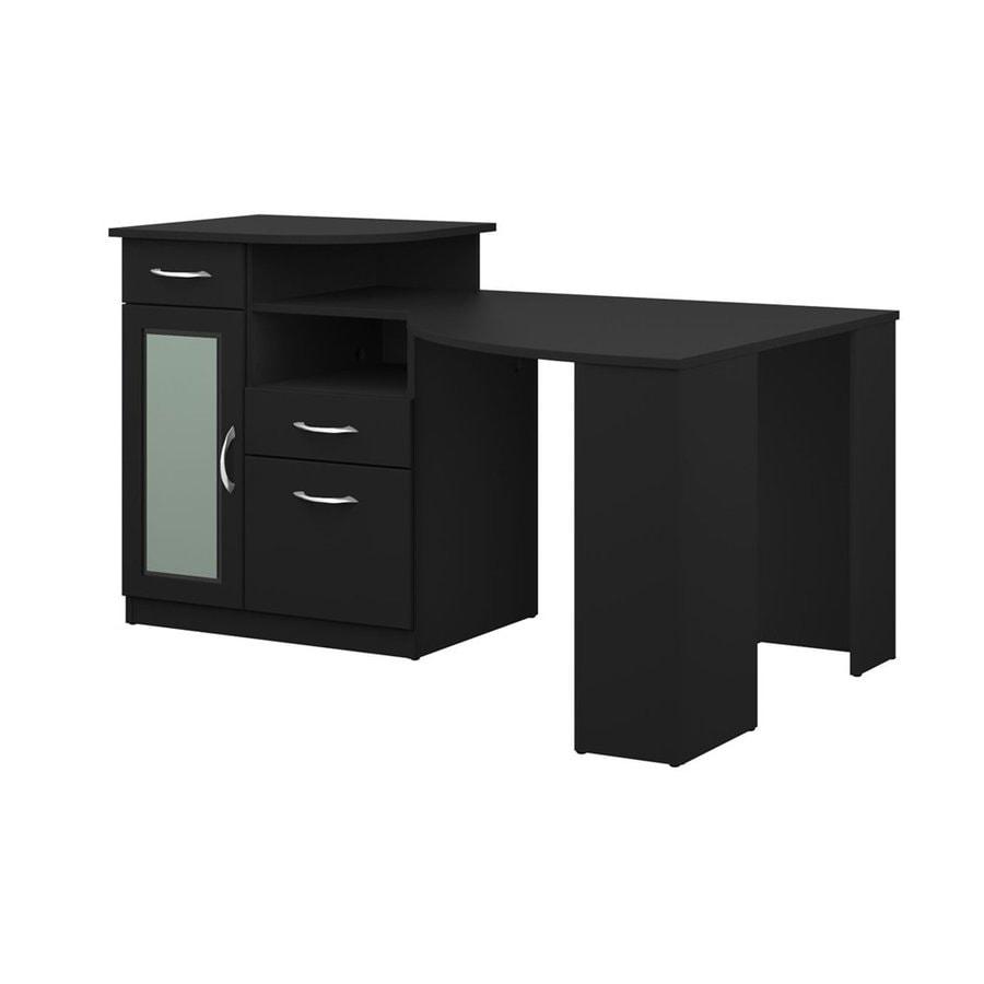 Bush Furniture Transitional Black Corner Desk