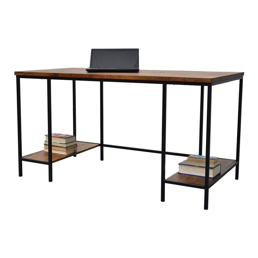 CAROLINA COTTAGE Brayden Transitional Chestnut Computer Desk