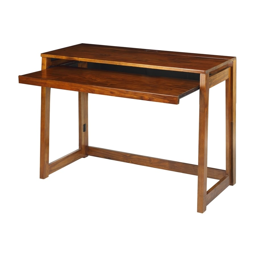 Casual Home Transitional Warm brown Computer Desk
