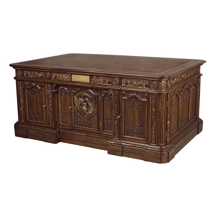 Design Toscano Traditional Antique brown Executive Desk - Design Toscano Traditional Antique Brown Executive Desk At Lowes.com