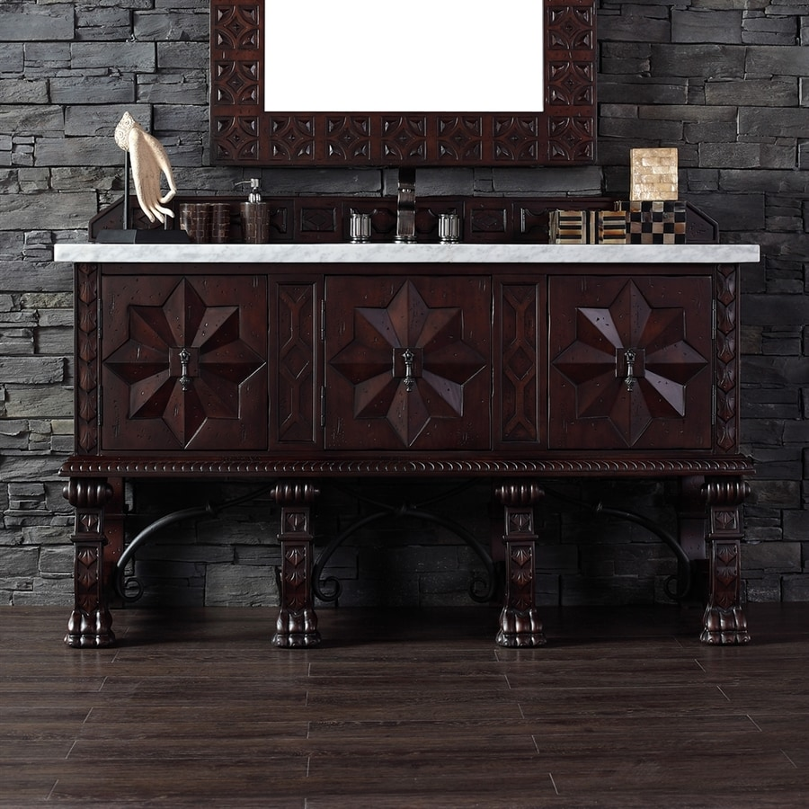 James Martin Furniture Balmoral Antique Walnut Single Sink Vanity