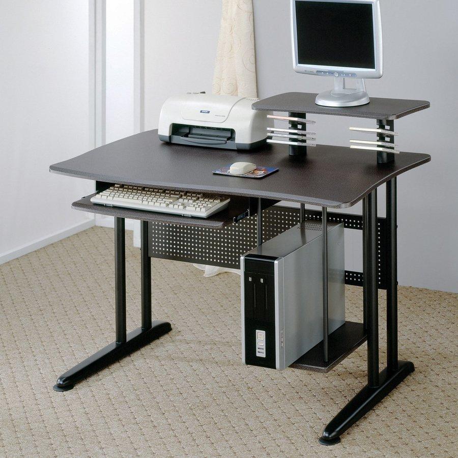 Coaster Fine Furniture Contemporary Black Computer Desk