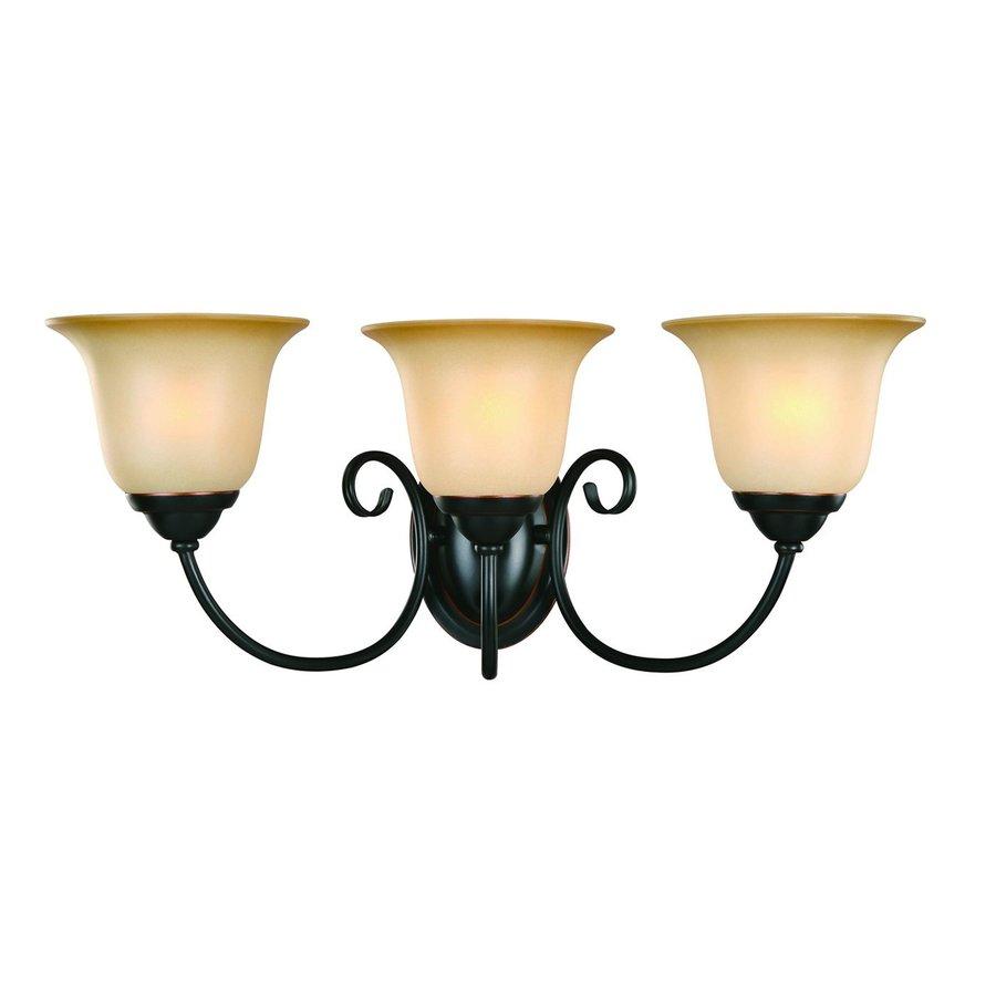 Hardware House Essex 3-Light 8.75-in Classic bronze Bell Vanity Light