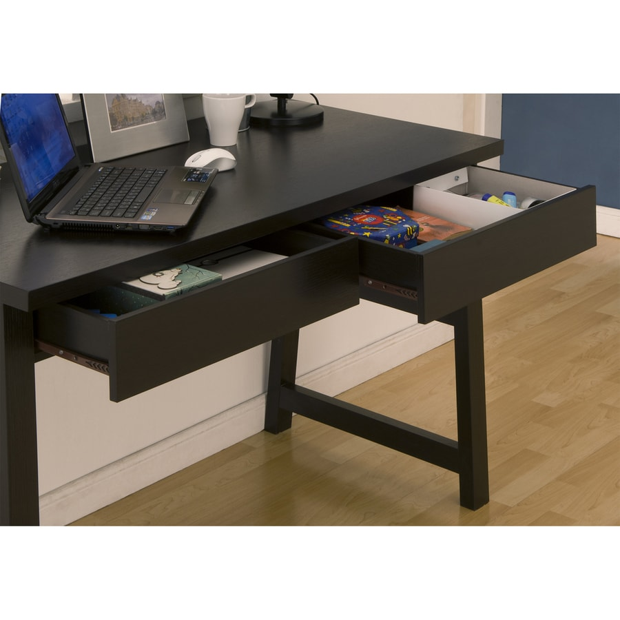 Enitial Lab Contemporary Cappuccino Writing Desk