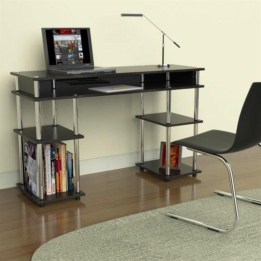Convenience Concepts Designs2Go Transitional Black Writing Desk