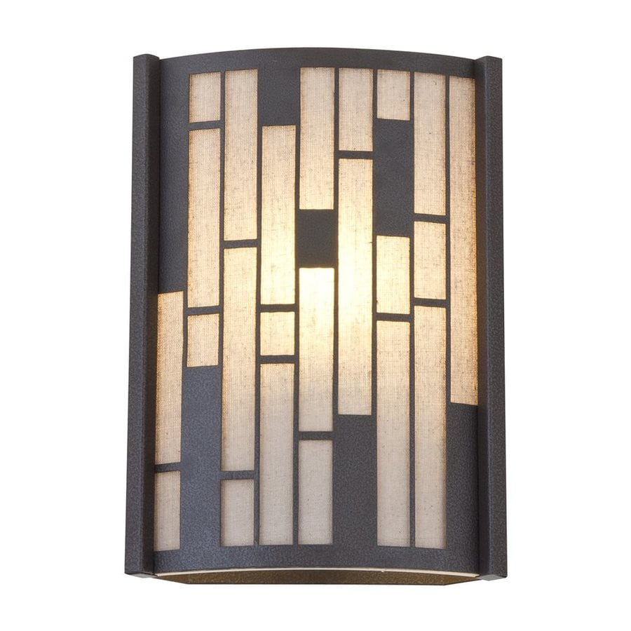 DVI Lisbon 8.5-in W 1-Light Forged iron Pocket Wall Sconce