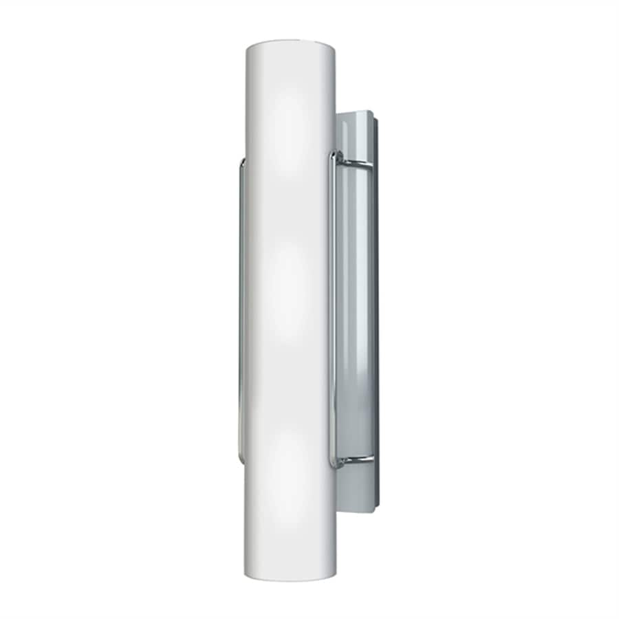 Kendal Lighting Nextra 4.75-in W 1-Light Chrome Wall Wash Hardwired Wall Sconce