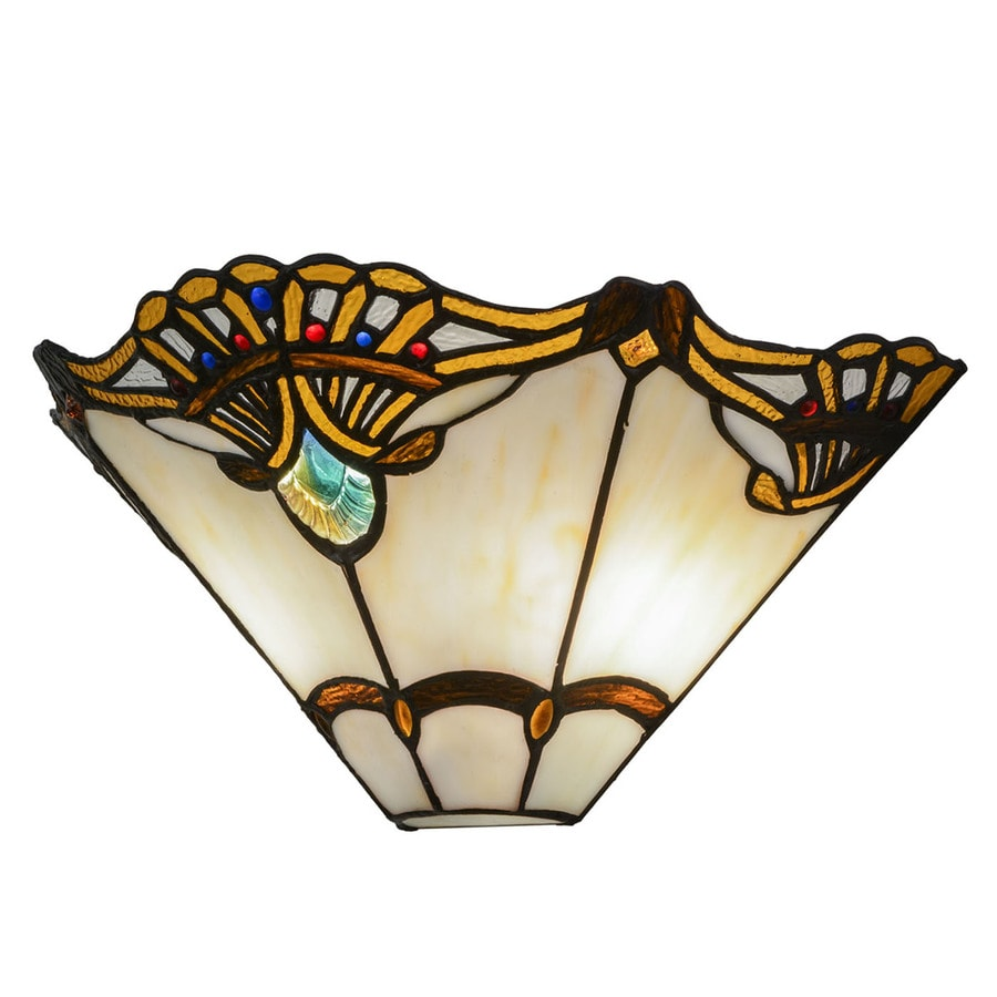 Meyda Tiffany Shell With Jewels 14 5 In W 2 Light Style Wall