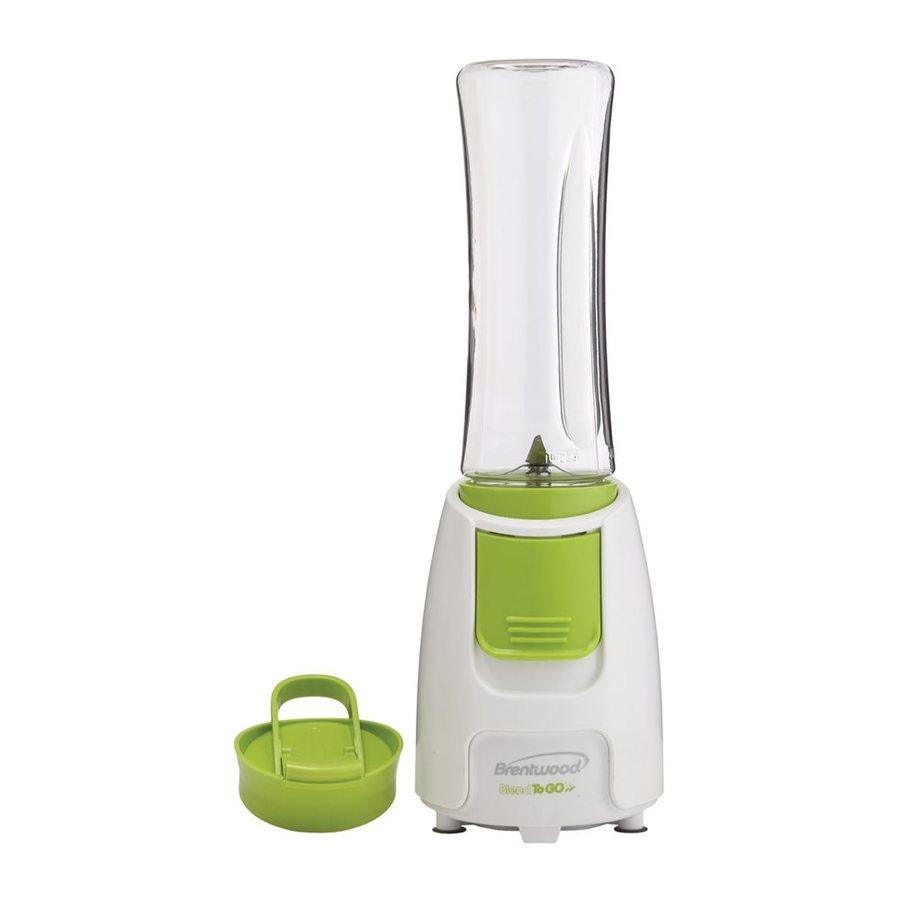 Brentwood Appliances Blend-To-Go 20-oz White 1-Speed 300-Watt Blender