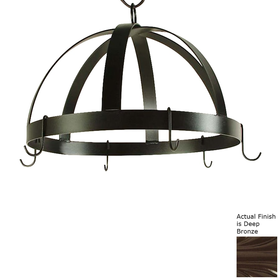Grace Collection 20-in x 20-in Bronze Dome Pot Rack