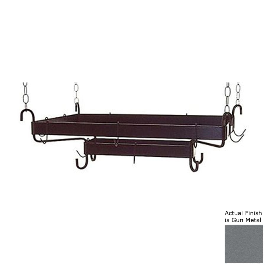 Grace Collection 32.5-in x 20-in Rectangular Pot Rack