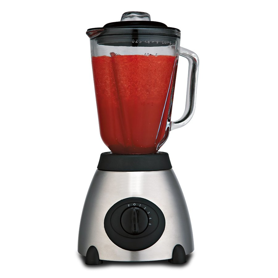 Brentwood Appliances 48-oz Black/Silver 5-Speed 500-Watt Pulse Control Blender