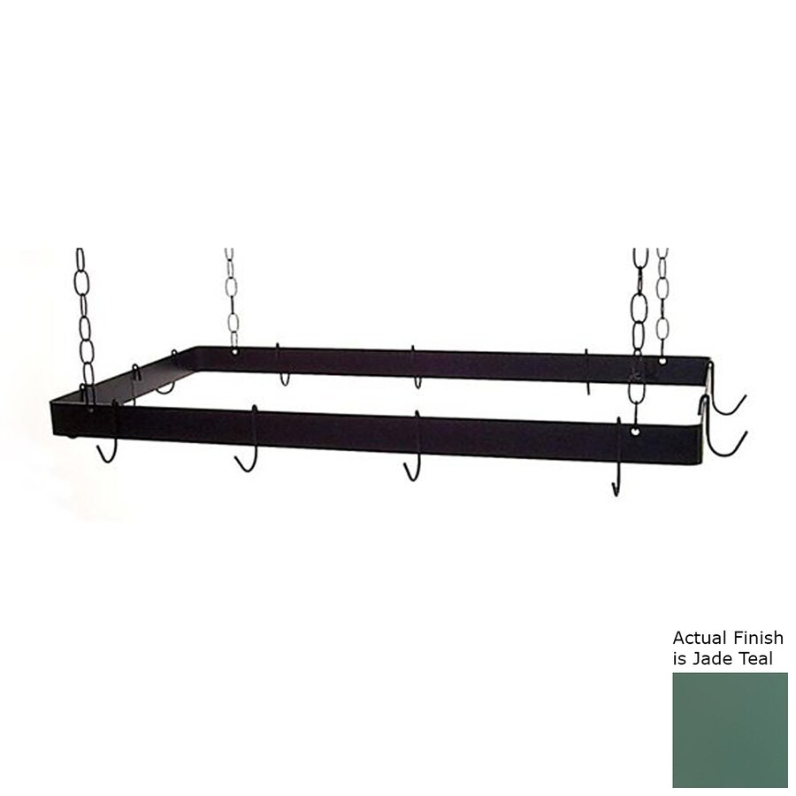 Grace Collection 48-in x 24-in Rectangular Pot Rack