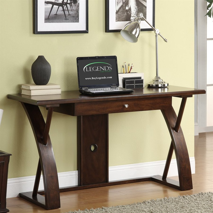 Legends Furniture Super-Z Transitional Cocoa Writing Desk