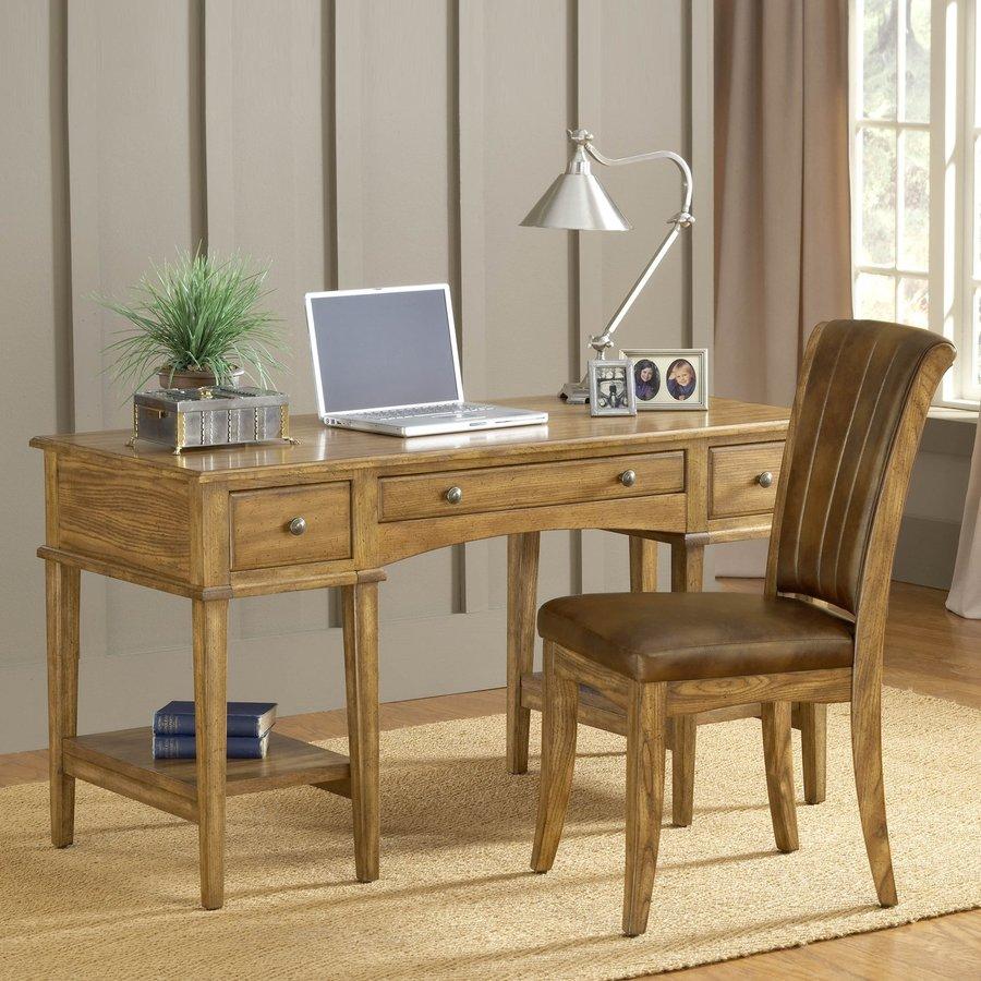 Hillsdale Furniture Transitional Medium Oak Computer Desk