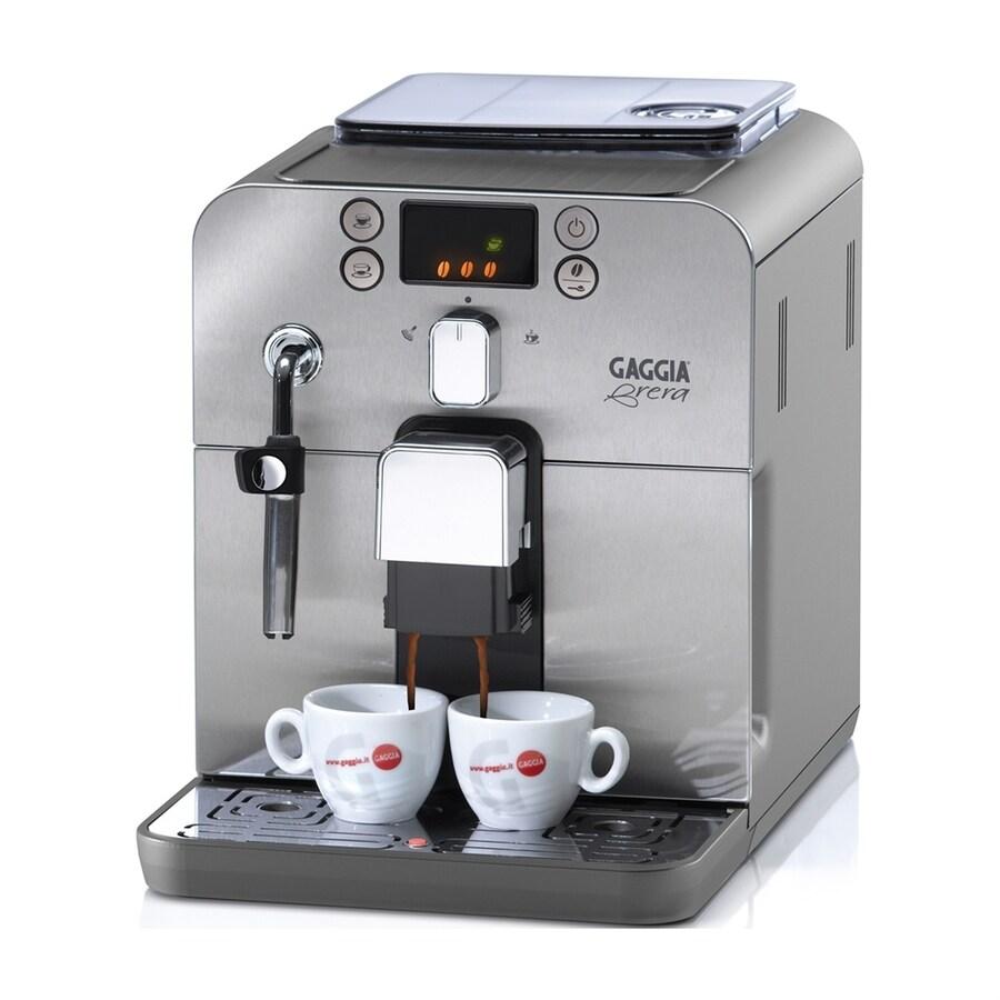 Gaggia Brera Stainless Steel Automatic Programmable Espresso Machine
