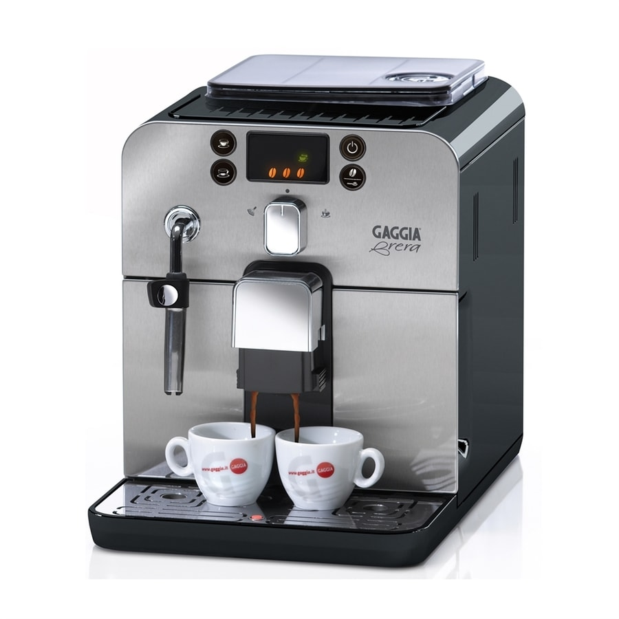 Gaggia Brera Stainless Steel Automatic Programmable Espresso Machine