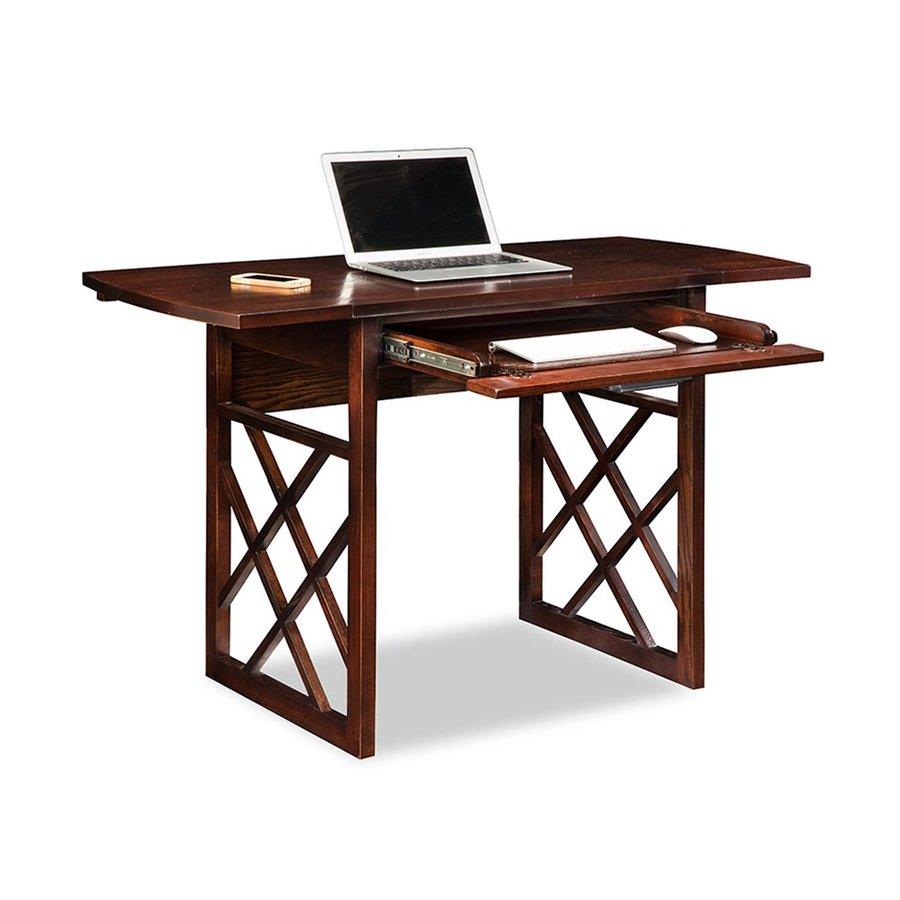 Leick Transitional Chocolate Oak Writing Desk