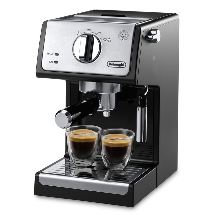 shop delonghi stainless steel automatic espresso machine. Black Bedroom Furniture Sets. Home Design Ideas