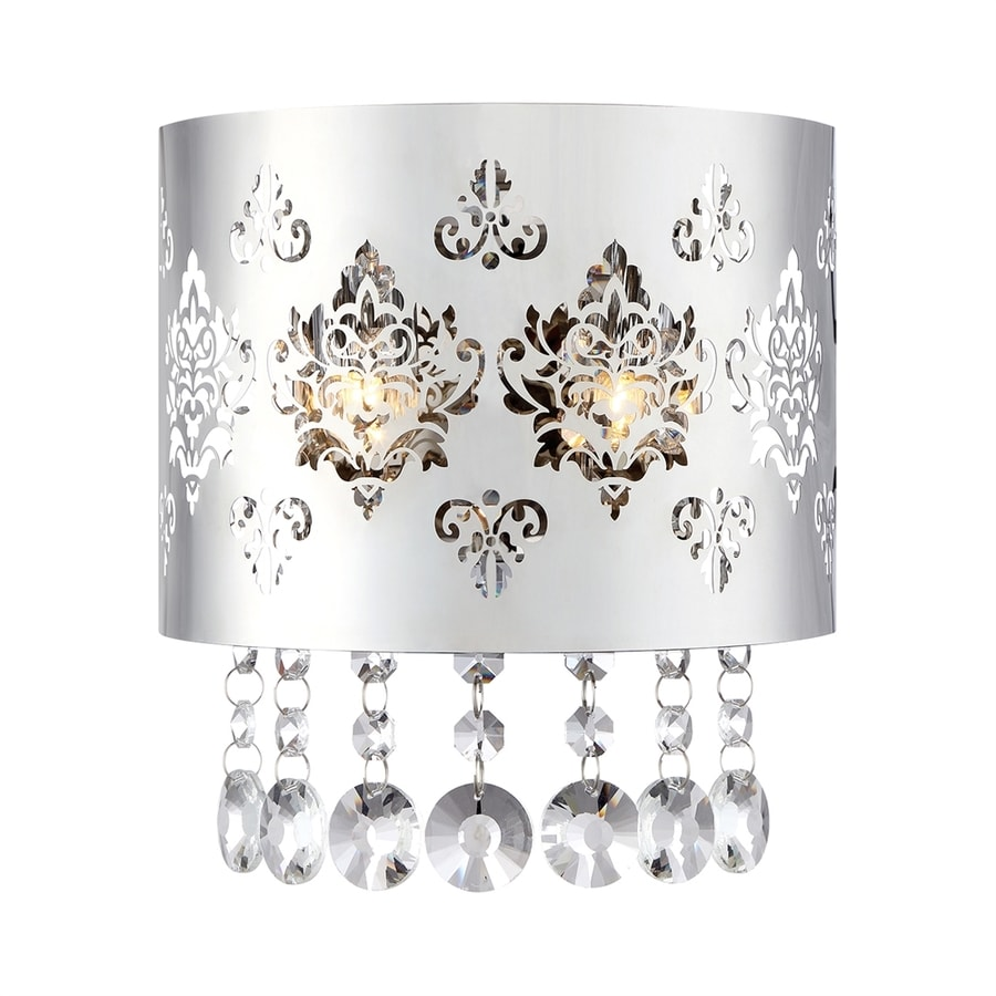 Shop Ashley Harbour Chime 78 In W 1 Light Polished Chrome Crystal