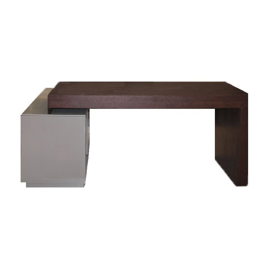 J&M Furniture Contemporary Wenge Writing Desk