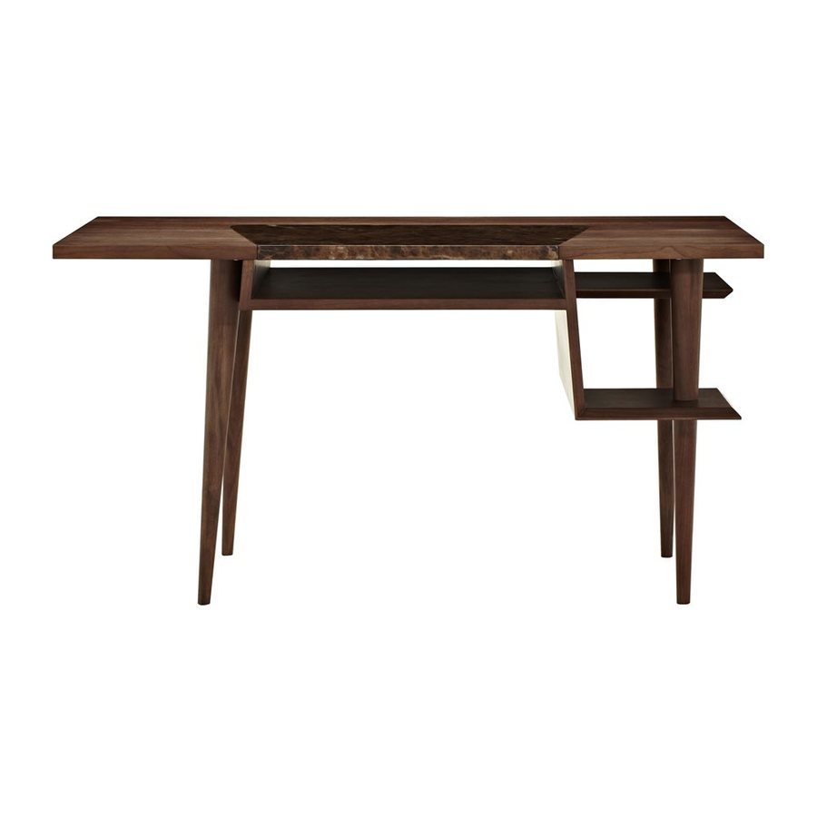 J&M Furniture Contemporary Baltic Brown Writing Desk