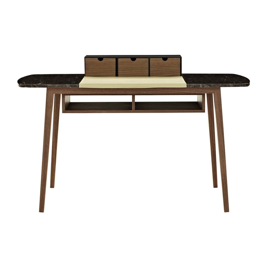 J&M Furniture Contemporary Baltic Brown Writing Desk
