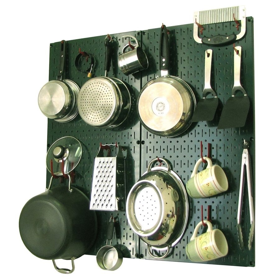 Wall Control 2-Piece Steel Pegboard Storage Kit (Actual: 32-in x 32-in)