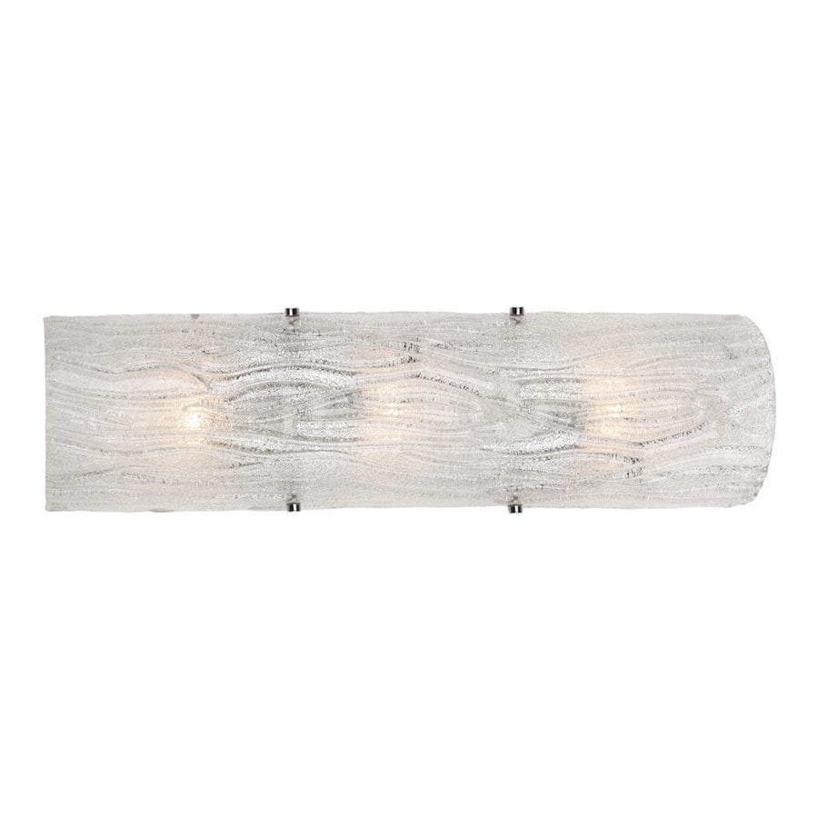 Varaluz Brilliance 22-in W 3-Light Polished chrome Pocket Wall Sconce