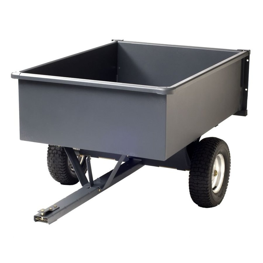 Precision Products 15-cu ft Steel Yard Cart