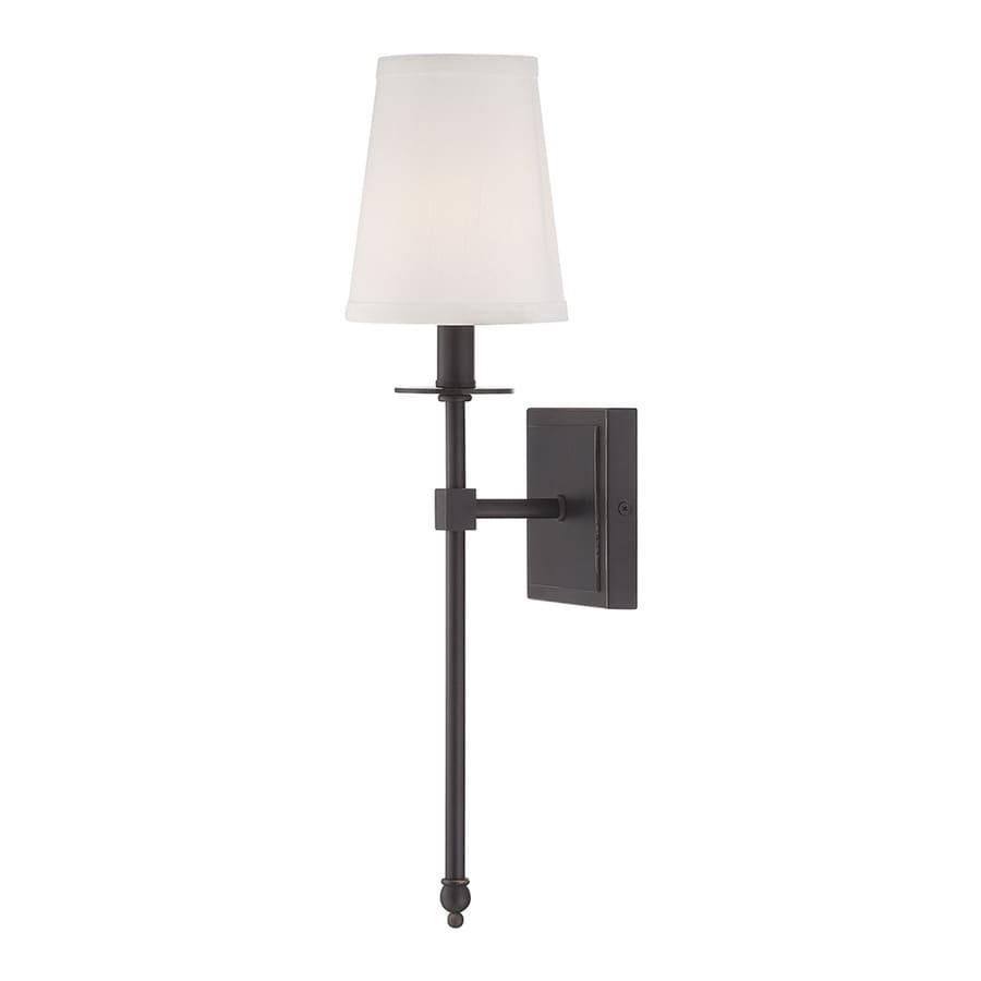 Cascadia Lighting Monroe 5 In W 1 Light Classic Bronze Arm Wall Sconce