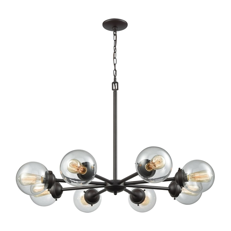 pittman fixtures nickel chandelier brushed thomas dining light wonderful lighting room