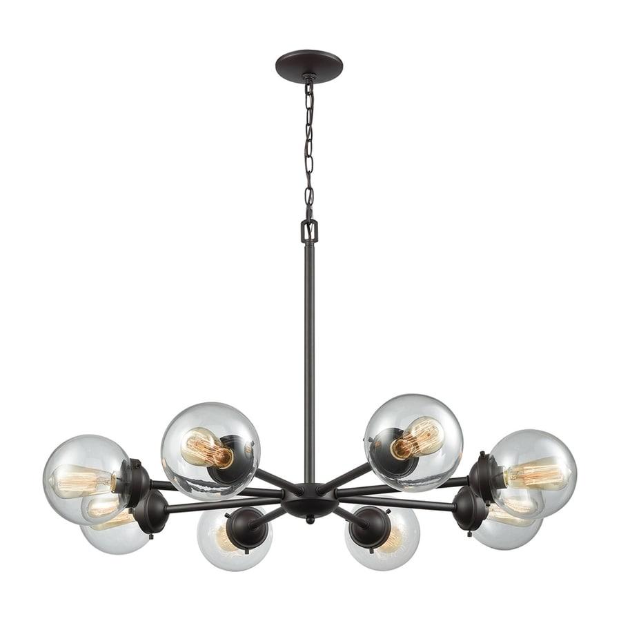 lighting room brushed chandelier thomas pittman light dining nickel fixtures wonderful