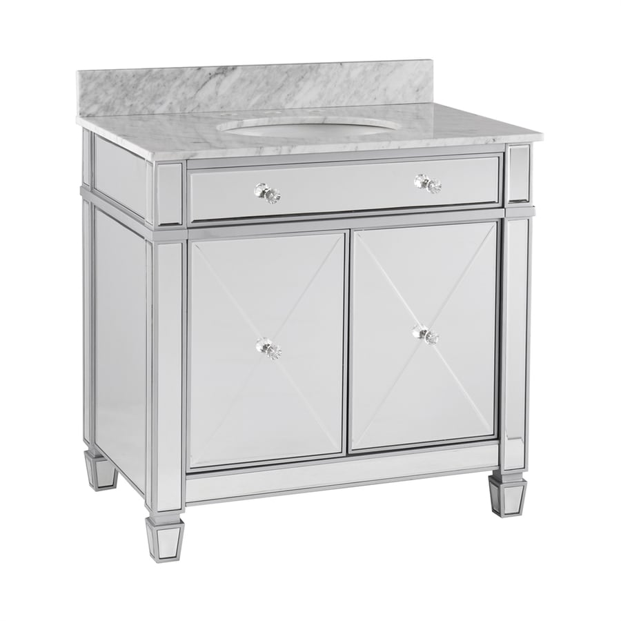 Shop Boston Loft Furnishings Minerva Mirrored Undermount Single Sink ...