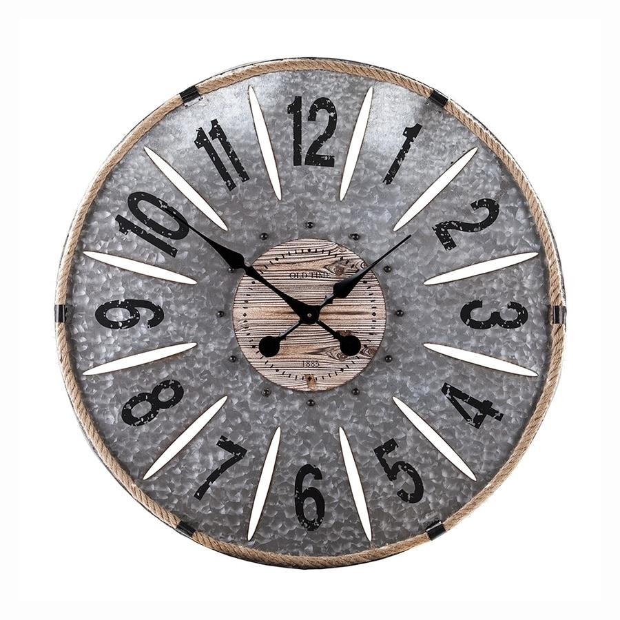 Boston Loft Furnishings Reginhard Analog Round Indoor Wall Clock