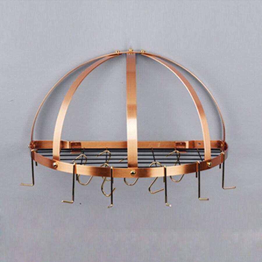 Old Dutch 22-in x Satin Copper Half-Dome Pot Rack