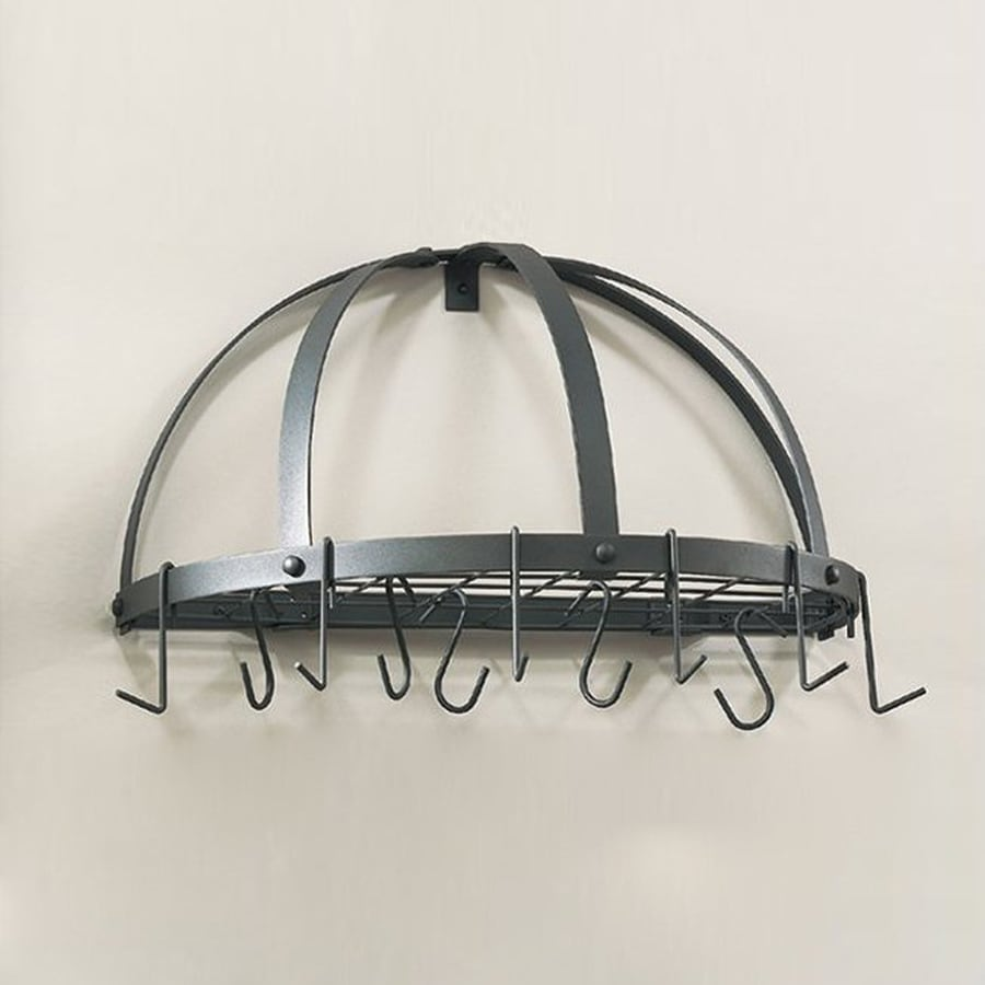 Old Dutch 22-in x Graphite Half-Dome Pot Rack