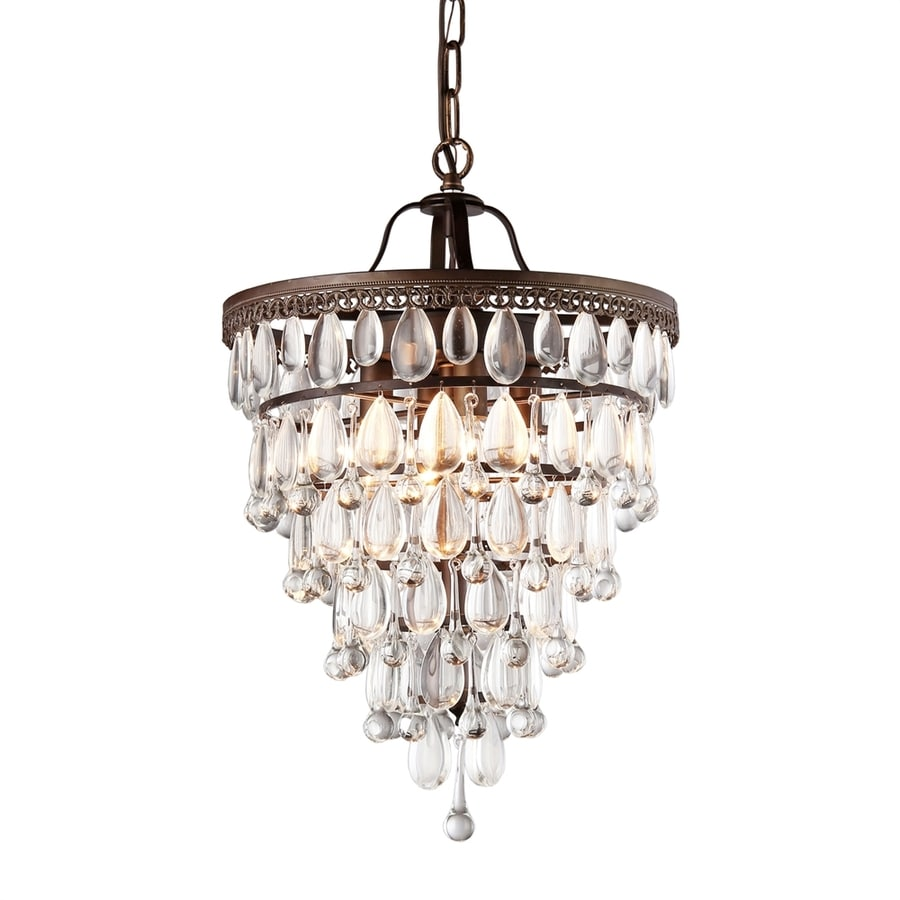 Shop Warehouse Of Tiffany Martinee 15 In 4 Light Antique