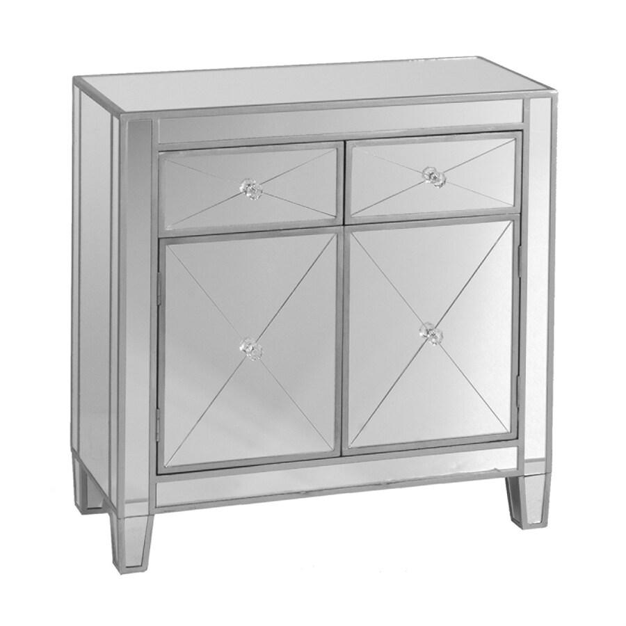 Boston Loft Furnishings Impressions Silver Mirror China Cabinet