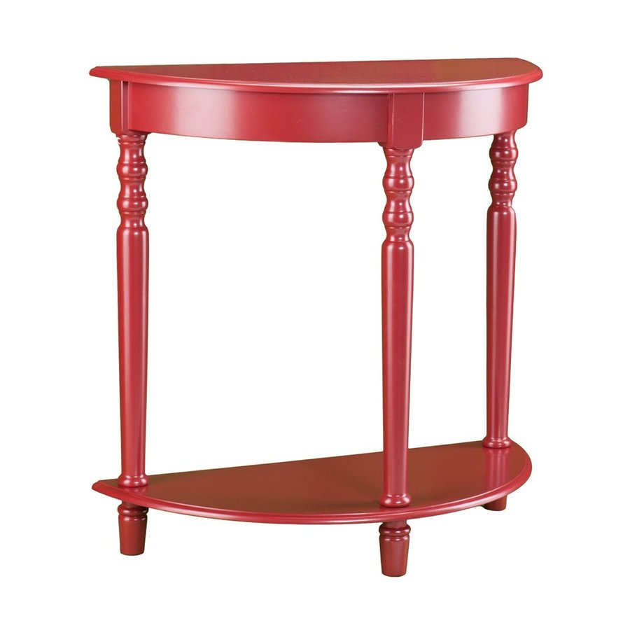 Boston Loft Furnishings Kara Red Asian Hardwood Sofa Table
