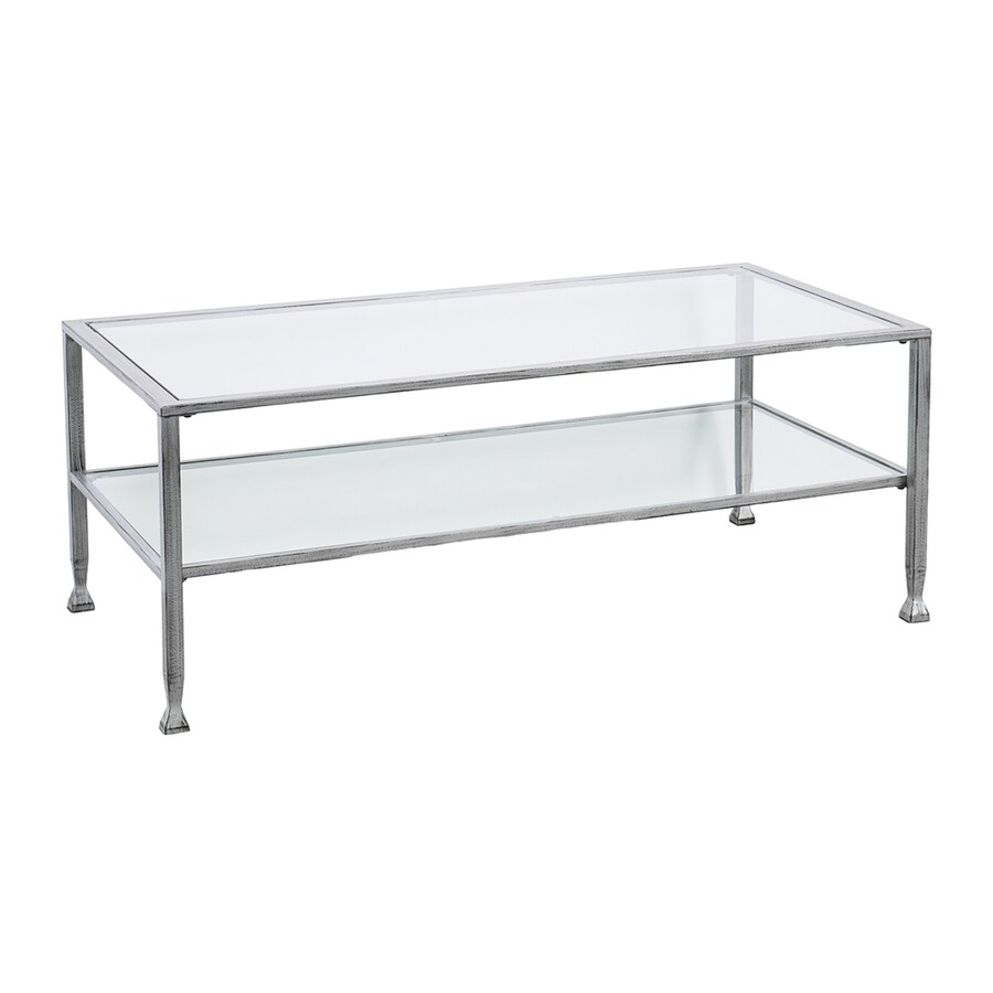 Boston Loft Furnishings Lea Clear Glass Coffee Table