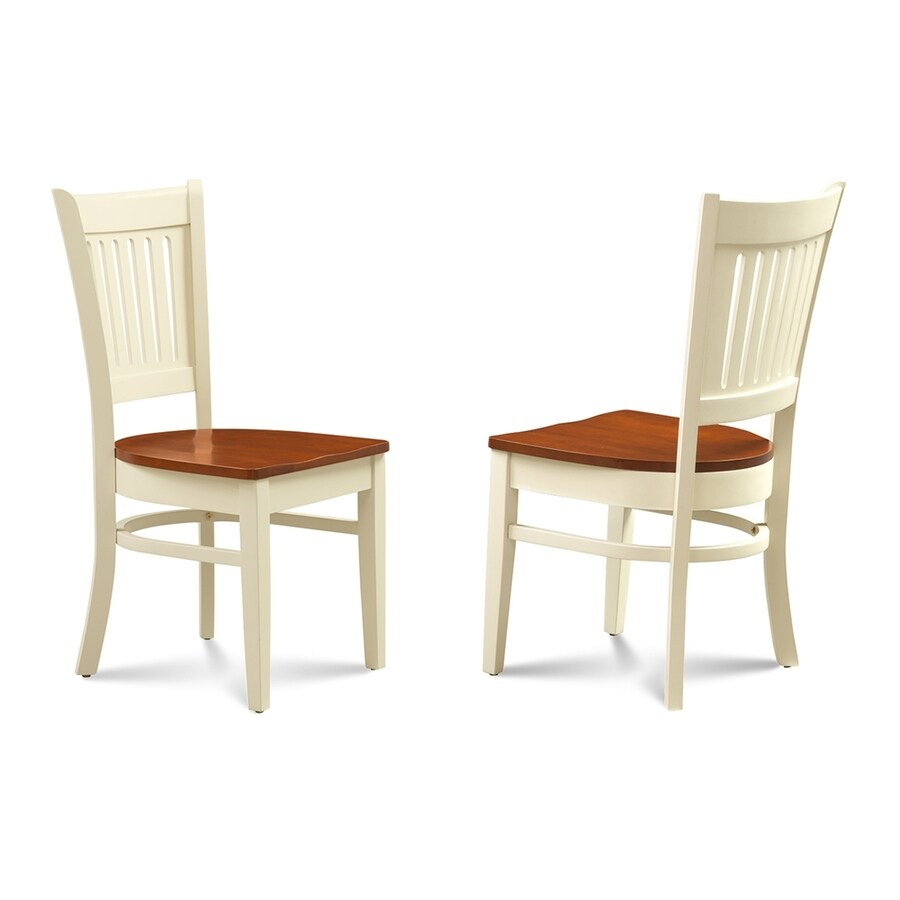M&D Furniture Set of 2 Midu Cherry Side Chair