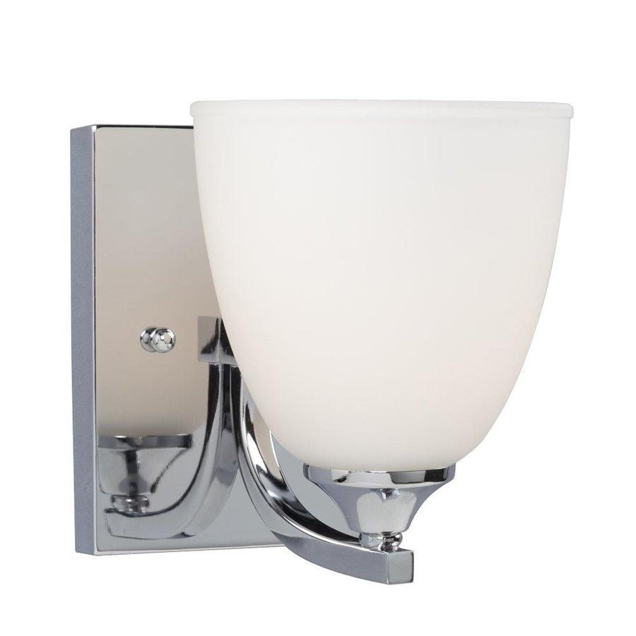 Galaxy Creston 5.5-in W 1-Light Polished Chrome Arm Wall Sconce