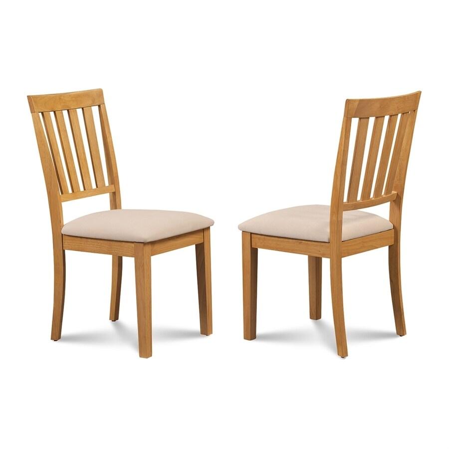 M&D Furniture Set of 2 Mocha Side Chair