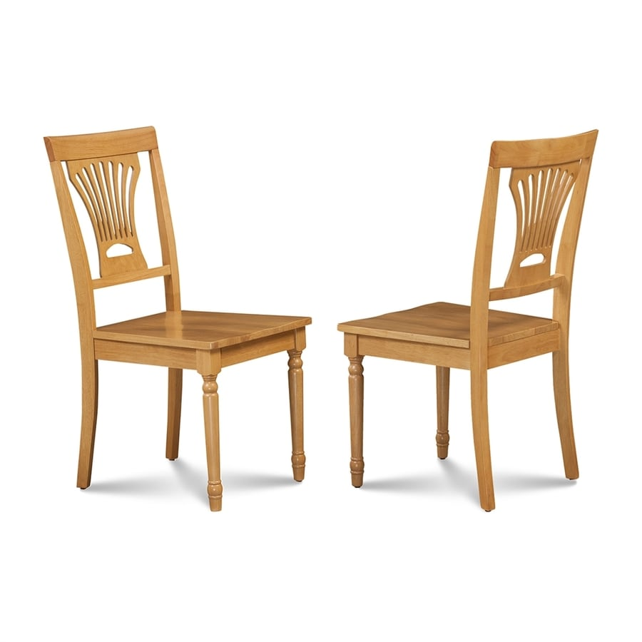 M&D Furniture Set of 2 Somerville Oak Side Chair