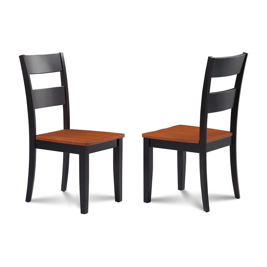 M&D Furniture Set of 2 Sunderland Cherry Side Chair