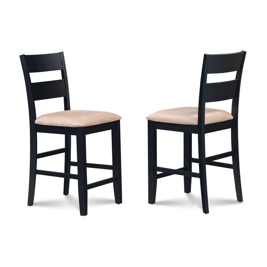 M&D Furniture Sunderland Set of 2 Casual Black Counter Height