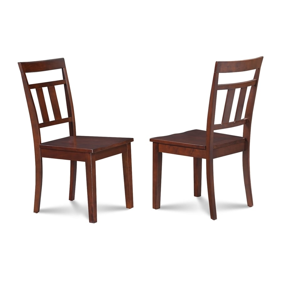 M&D Furniture Set of 2 Westwood Mahogany Side Chair