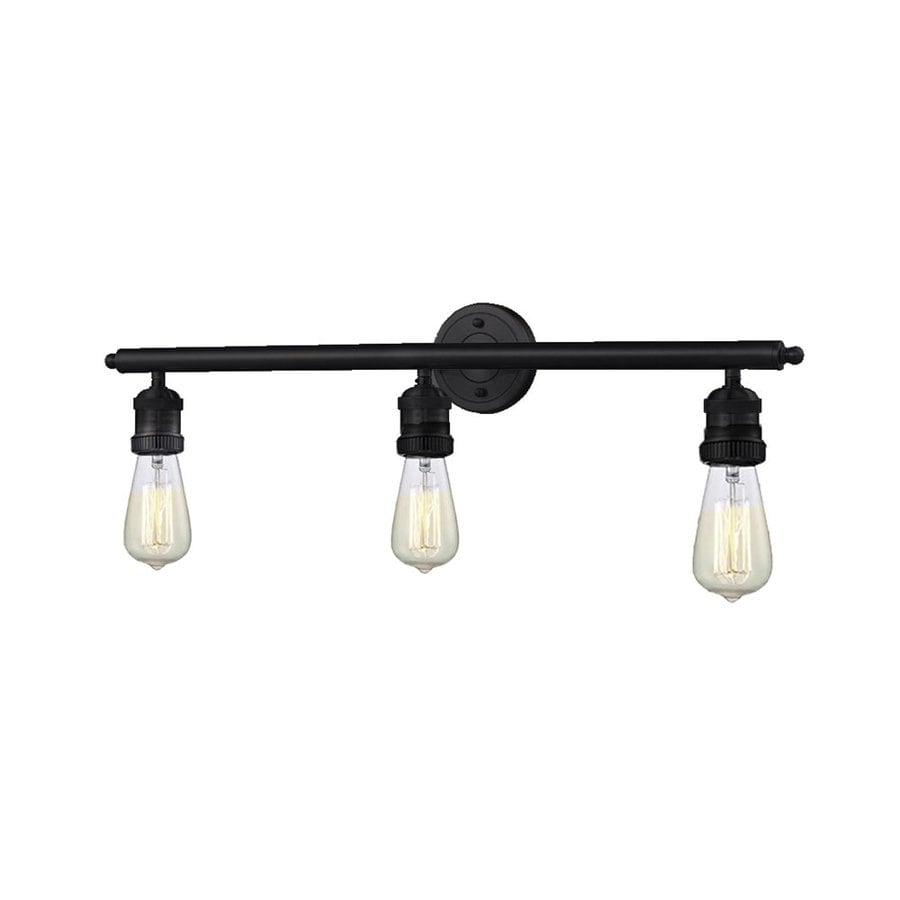 Shop Innovations Lighting 3 Light 29 In Oil Rubbed Bronze Vanity Light Bar At