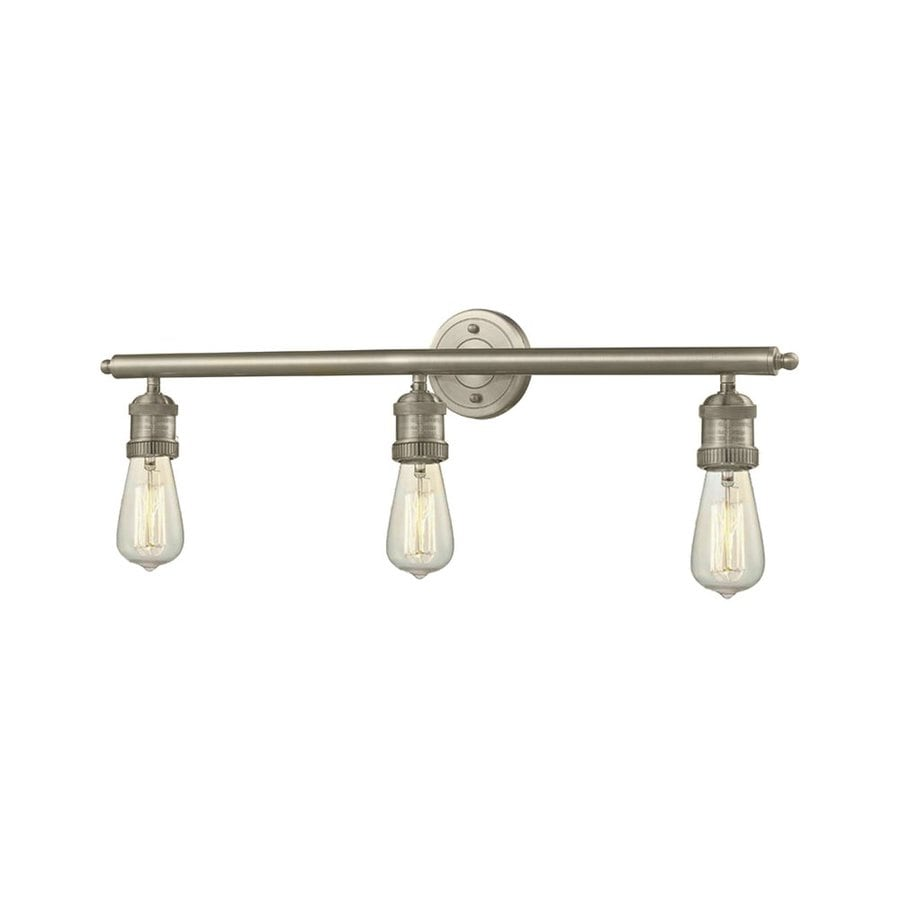 Innovations Lighting 3-Light 5-in Satin Nickel Vanity Light Bar